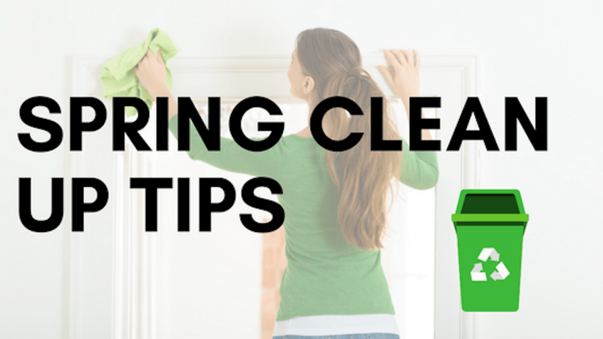 spring clean up tips